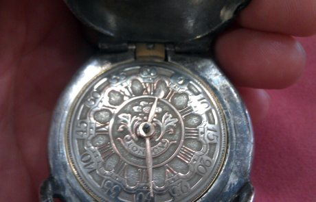 Antique Skill Pocket Watch
