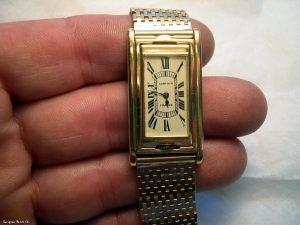 Watch case restoration