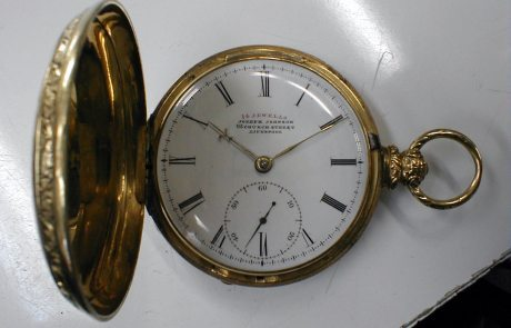 Joseph Johnson watch repair